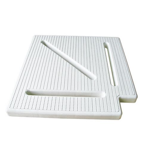 300mm Overflow Grating 90 Degree Corner Classic Design