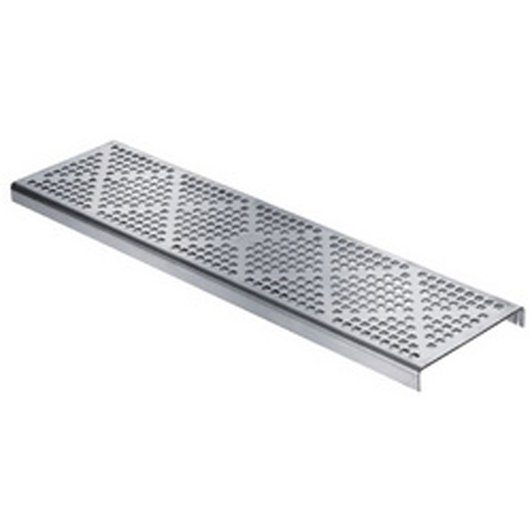 Swimming Pool Overflow Channel Shallow Stainless Steel Grating